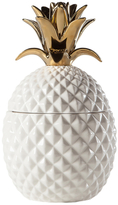 Torre & Tagus Pineapple Tall Ceramic Canister