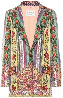 Etro Printed blazer