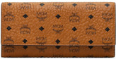 MCM Color Visetos Three Fold Wallet