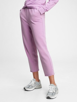 Gap French Terry Barrel Joggers