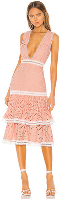NBD X by Laila Midi Dress