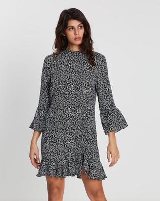 MinkPink Perpetual Ruched Mini Dress
