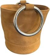 Simon Miller Small Bonsai Camel Suede Handbags