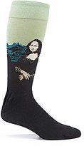 Hot Sox Mona Lisa Crew Socks