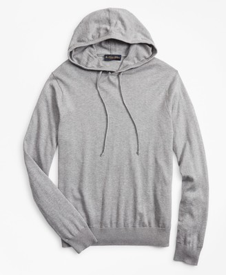 Brooks Brothers Silk and Cotton Hoodie