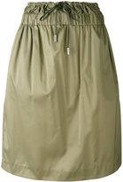 Aalto drawstring straight skirt - women - Silk/Polyethylene/Acetate - 36