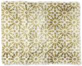 "Deny Designs Schatzi Brown Hara Tiles Golden Woven Throw Blanket - 60"" x 50"""