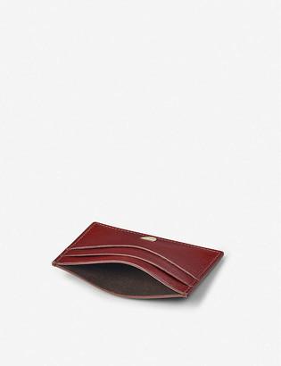 Aspinal of London Slim leather cardholder