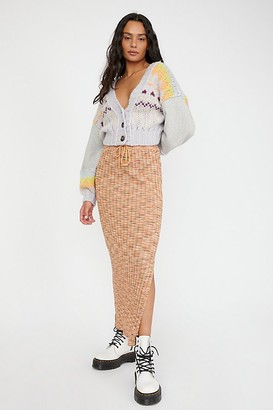 Free People Saturday Sweater Skirt