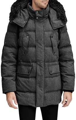 Andrew Marc Belmont Fox Fur-Trimmed Down Parka