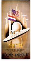 Bed Bath & Beyond Holland-America Line Vintage Travel Printed Canvas Wall Art