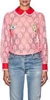 VIVETTA Women's Uruguay Embellished Lace Blouse