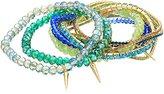 ABS by Allen Schwartz 15 Piece Stretch Gold Multi-Stretch Bracelet