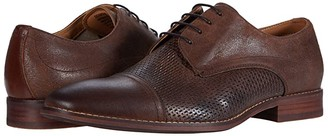 Steve Madden Desmond Oxford (Brown Leather) Men's Shoes