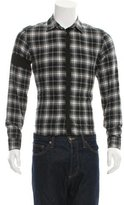 Givenchy Plaid Woven Shirt