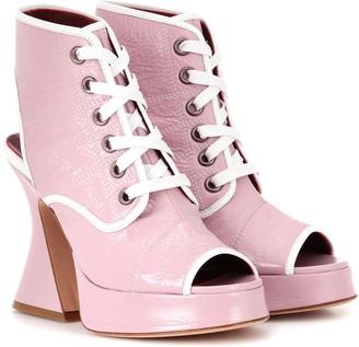 Sies Marjan Erin 110 patent leather sandals