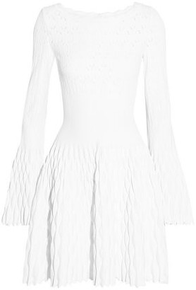 Alaia Knitted Mini Dress