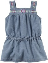 Carter's Woven Fashion Top (Baby) - Denim - 6 Months