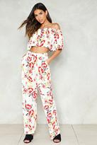 Nasty Gal Seasons in the Sun Floral Pants