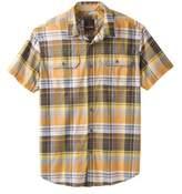 Prana Men's Cayman Plaid Short Sleeve Shirt - Golden Barrel Short Sleeve Shirts