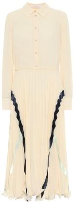 See by Chloe Georgette shirt dress