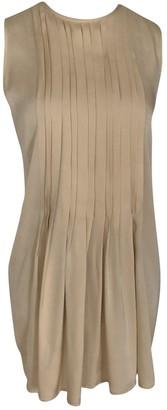 Sly 010 Sly010 Beige Silk Top for Women
