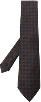 Etro geometric embroidered tie