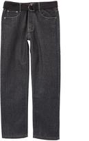 Monarchy Black Denim Chams Jeans - Boys