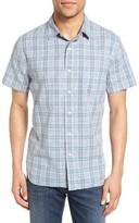 Grayers Men's Sutton Trim Fit Plaid Sport Shirt