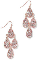 New York & Co. Faux-Druzy Chandelier Earring