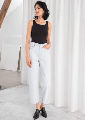 And other stories Loose Mid Rise Jeans