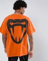 Honour HNR LDN Fang Back Print T-Shirt in Oversized