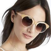 Sole Society Claremore Two Tone Round Sunglasses