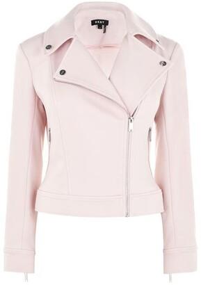 DKNY Long Sleeve Pocket Zip Jacket