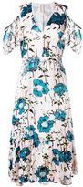 Antonio Marras cold shoulder dress - women - Polyester/Polyamide/Spandex/Elastane/Cupro - 42