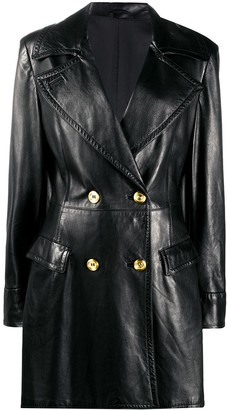 1980s Double-Breasted Leather Jacket