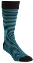 Lorenzo Uomo Men's 'Thin Stripe' Socks