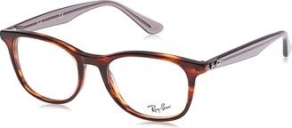 Ray-Ban Unisex's Rx5356 Square Eyeglass Frames Prescription Eyewear