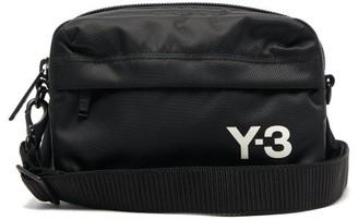 Y-3 Logo-print Technical Cross-body Bag - Mens - Black