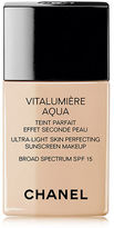 Chanel Vitalumi&200re Aqua Ultra-Light Skin Perfecting Sunscreen Makeup Spf 15