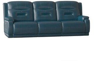 "Southern Motion Crescent Reclining 95"" Pillow Top Arm Sofa Body Fabric: Milano Coffee, Reclining Type: Manual"