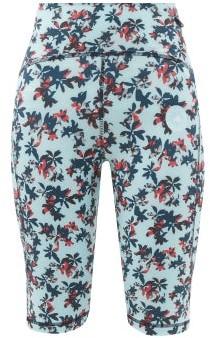 adidas by Stella McCartney Truepurpose Floral-print Cycling Shorts - Blue Multi