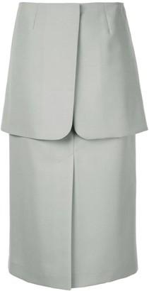 Irene Layered Midi Skirt
