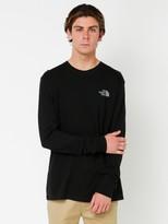 The North Face Mens Long Sleeve Rex Box T-Shirt