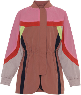 Molo Girl's Heather Colorblocked Jacket, Size 4-16