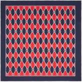 Gucci Rhombus print silk scarf
