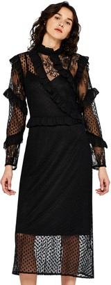Find. Amazon Brand Women's Midi Lace Dress
