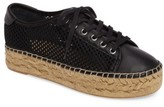 Marc Fisher Women's Macey Perforated Espadrille Platform Sneaker