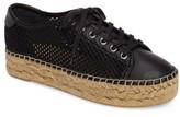 Marc Fisher Women's Macey Perforated Espadrille Platform Sneaker