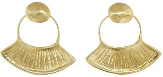 ARIANA BOUSSARD-REIFEL Pascola Earrings - Brass
